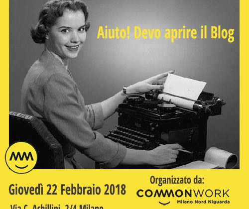 workshop per blogger digital strategy Milano